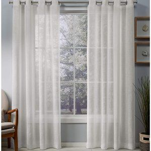 """Exclusive Home Curtains Belgian 50"""" x 96"""" 2 Panels"""